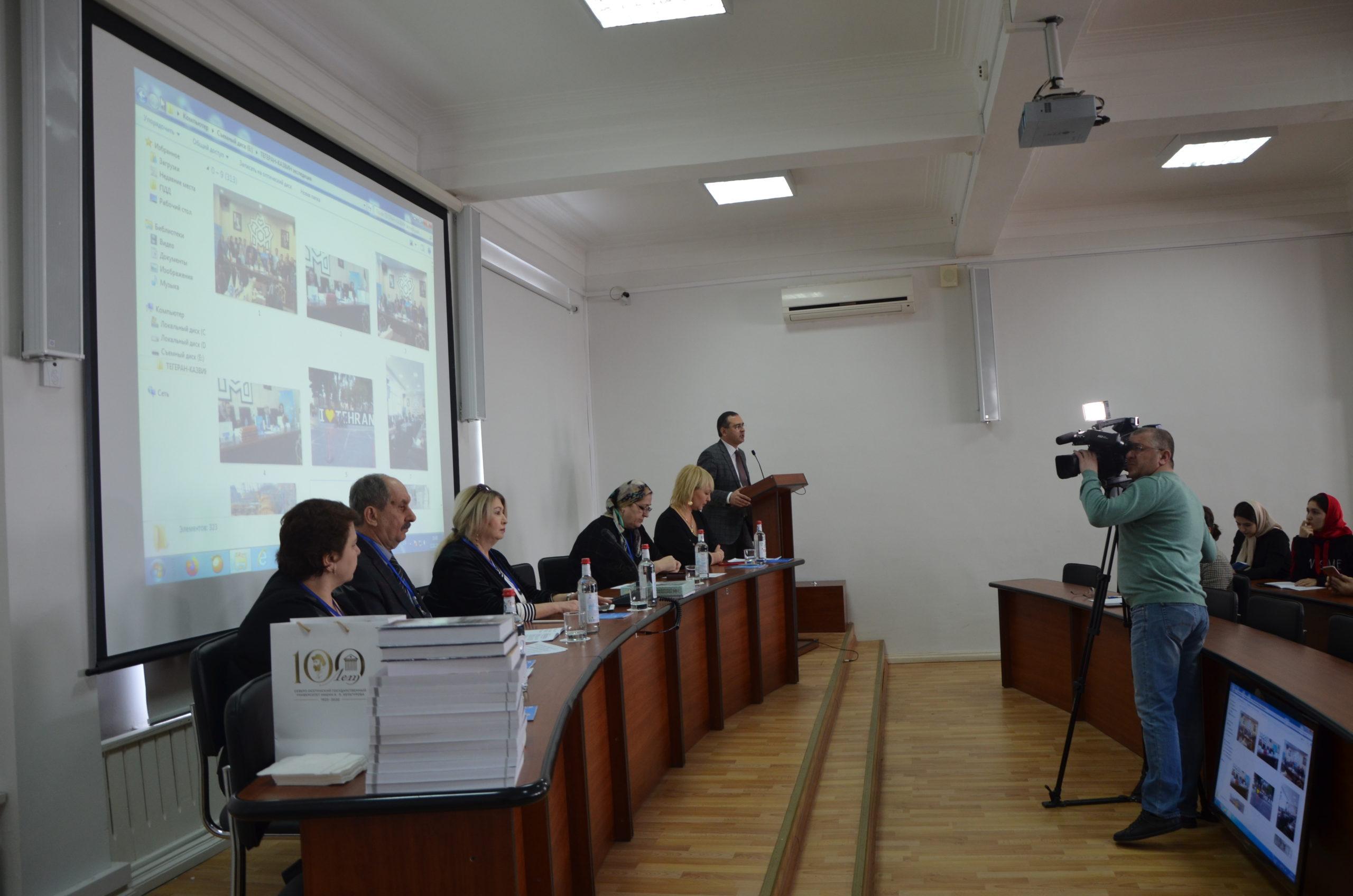 Ко Дню российской науки: молодые ученые обсудили историю и культуру Северного Кавказа
